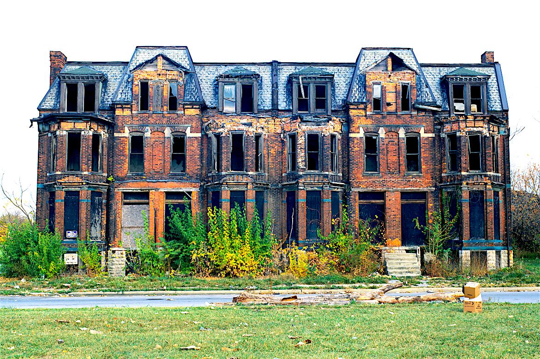 Detroit Blight, Abandoned Homes, Detroit Communities, KOLUMN Magazine, Kolumn