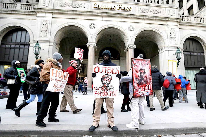 Detroit Public Schools, Sick Out, Teacher Protest, KOLUMN Magazine, Kolumn