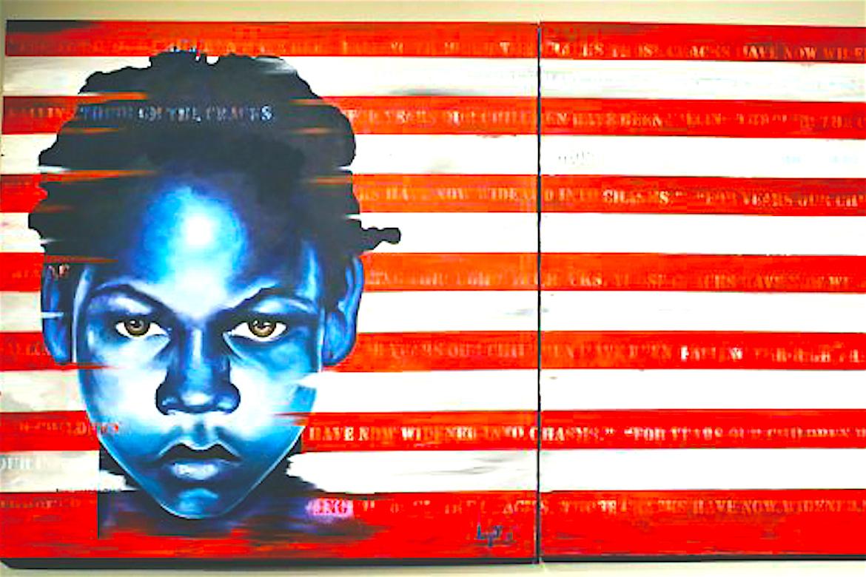 John Jahni Moore, Flag