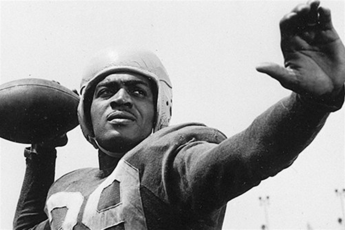 Black Football Player, 1st Black NFL Player, Kenny Washington, Pro Football Hall of Fame, KOLUMN Magazine, Kolumn
