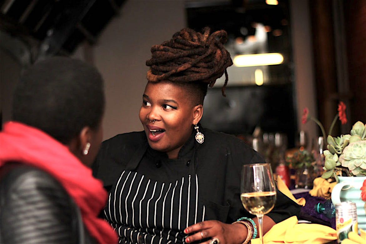 South African Cuisine, Khanya Mzongwana, DJ Bubbles, Off The Wall Pop-Up Restaurant, KOLUMN Magazine, KOLUMN