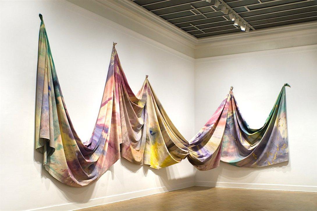 Sam Gilliam, Washington Color School, KOLUMN Magazine, KOLUMN