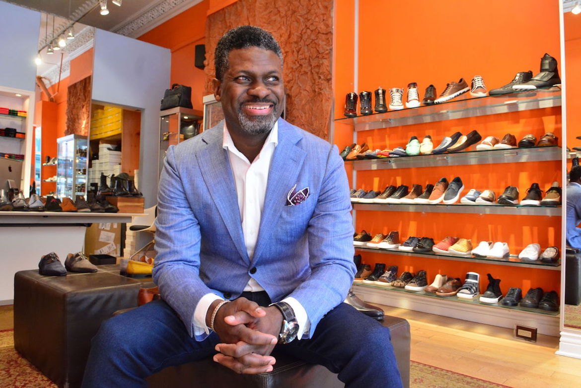 Center City Philadelphia, Blue Sole Shoes, Steve Jamison, Black Business, African American Business, African American Entrepreneur, African American News, KOLUMN Magazine, KOLUMN