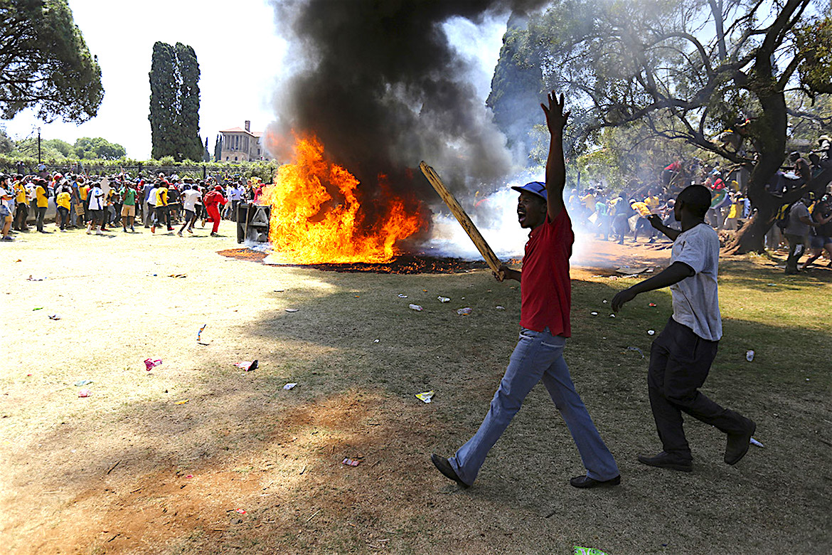 South Africa Tuition Protests, Tuition Protests, Education Costs, College Tuition Africa, KOLUMN Magazine, Magazine