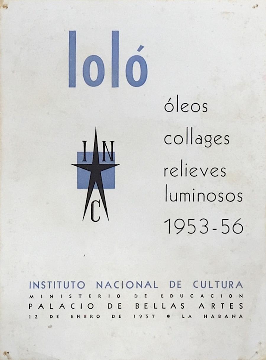 Cuban Modernism, Loló Soldevilla, José Gómez Sicre, Latin Art, Modern Art, KOLUMN Magazine, KOLUMN