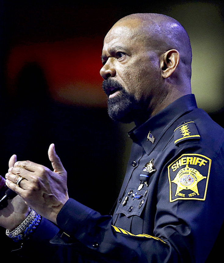 Sheriff David Clark Jr., David Clark, Black Conservative, Black Republican, African American Conservative, Wisconsin Police, KOLUMN Magazine, KOLUMN