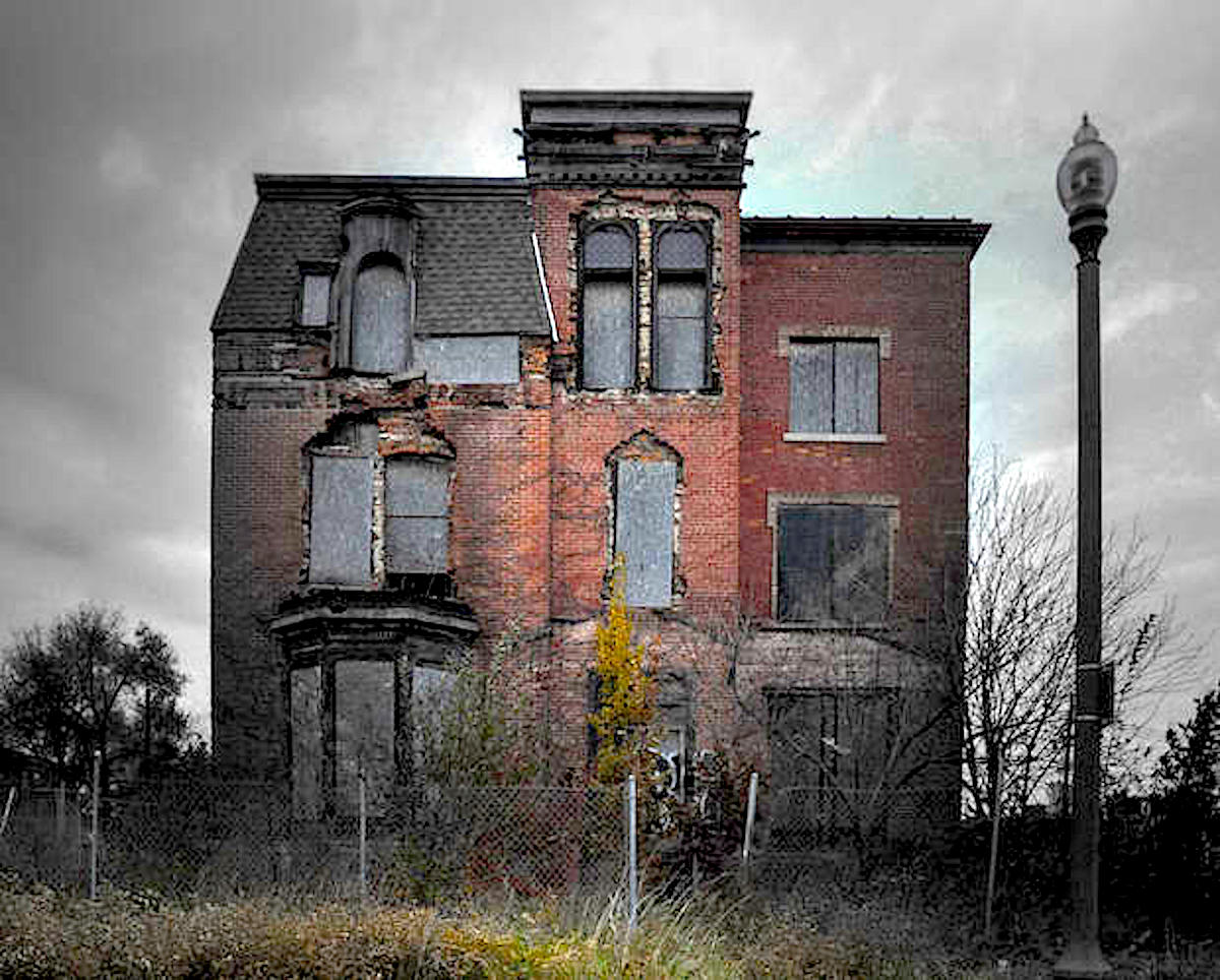 Detroit Housing, Detroit Blight, Abandoned Homes, Detroit Against Everybody, Made In Detroit, Built In Detroit, KOLUMN Magazine, KOLUMN