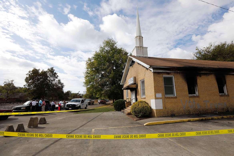 Hopewell Missionary Baptist, African American Church, Church Burning, Race Matters, Andrew McClinton, KOLUMN Magazine, KOLUMN