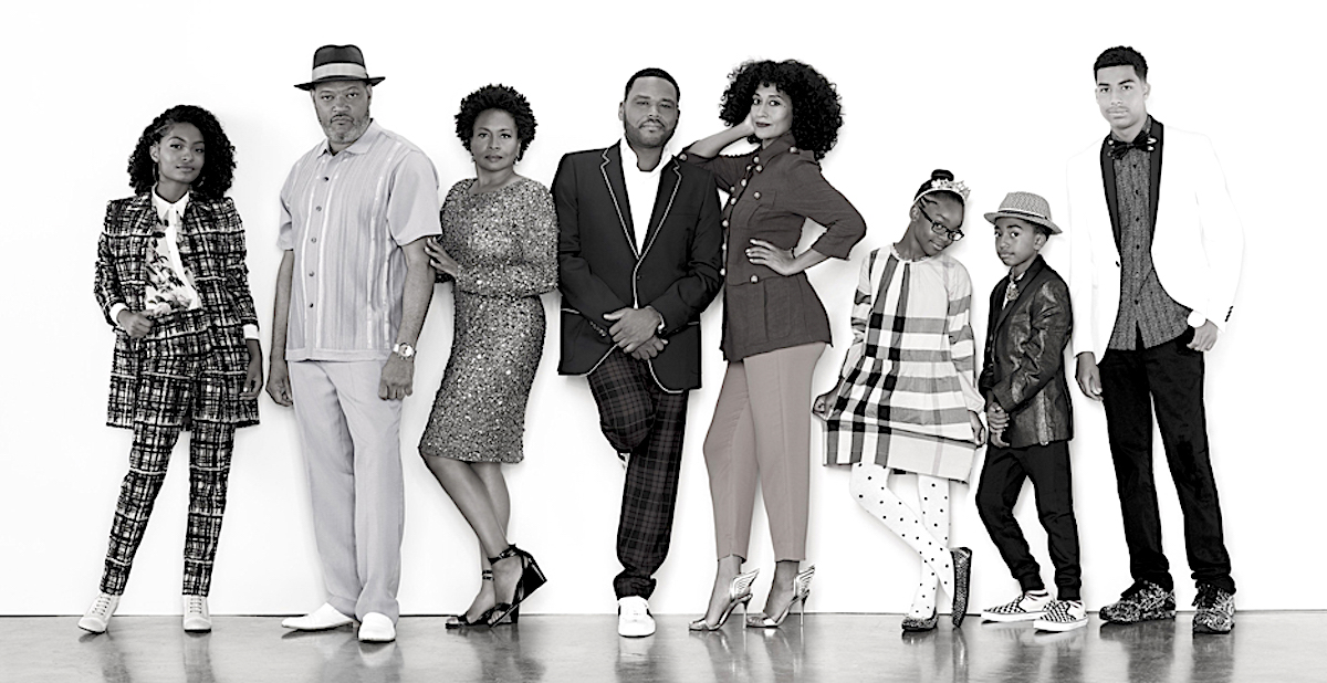 Black-ish, Tracee Ellis Ross, Anthony Anderson, African American Television, African American News, KOLUMN Magazine, KOLUMN