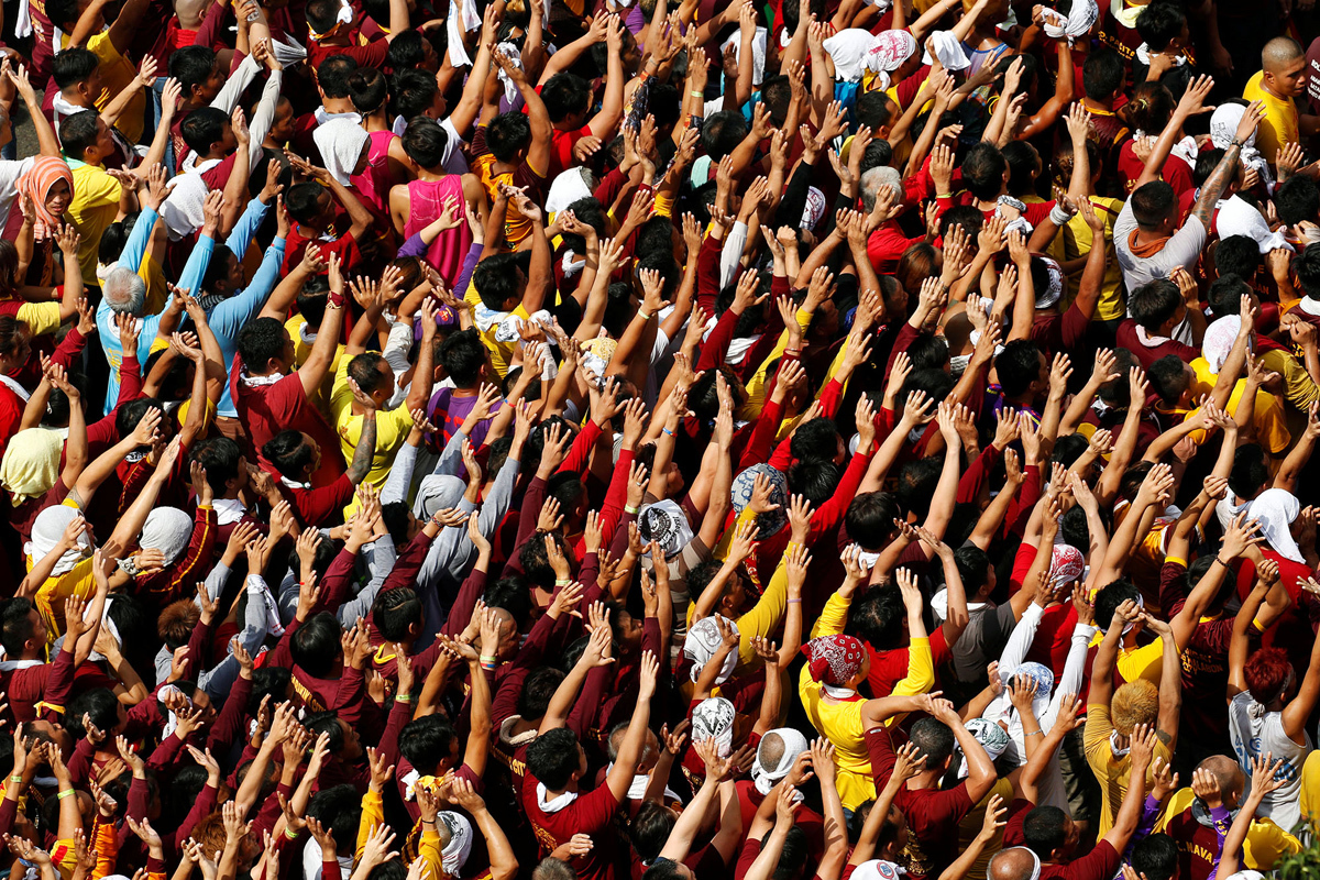Black Nazarene, Philippines, Catholicism, KOLUMN Magazine, KOLUMN
