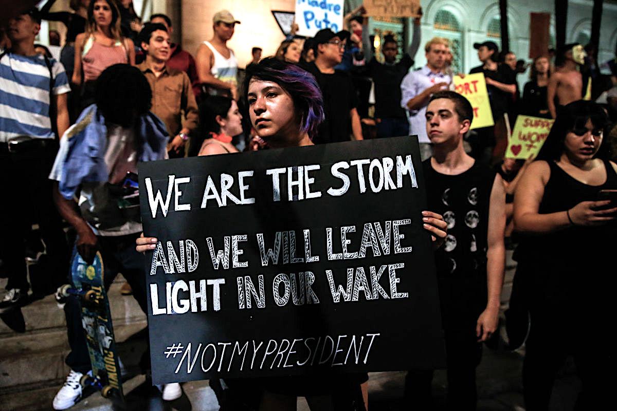 LGBTQ, Women's March on Washington, Inauguration 2017, Anti Trump, Washington DC March, KOLUMN Magazine, KOLUMN