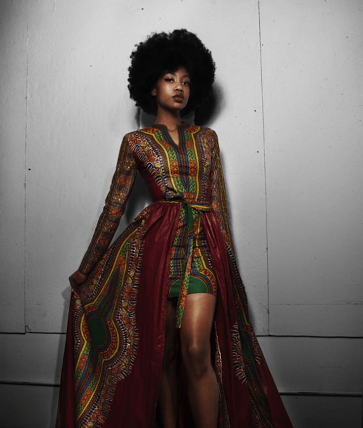 African American Girls Fashion: The Girl Whose Dashiki-Style Prom Dress Went Viral Is