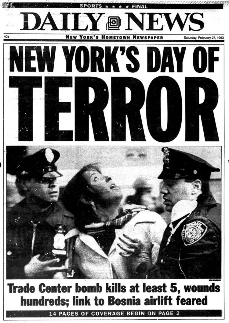 World Trade Center Bombing, 1993 New York Bombing, KOLUMN Magazine, KOLUMN