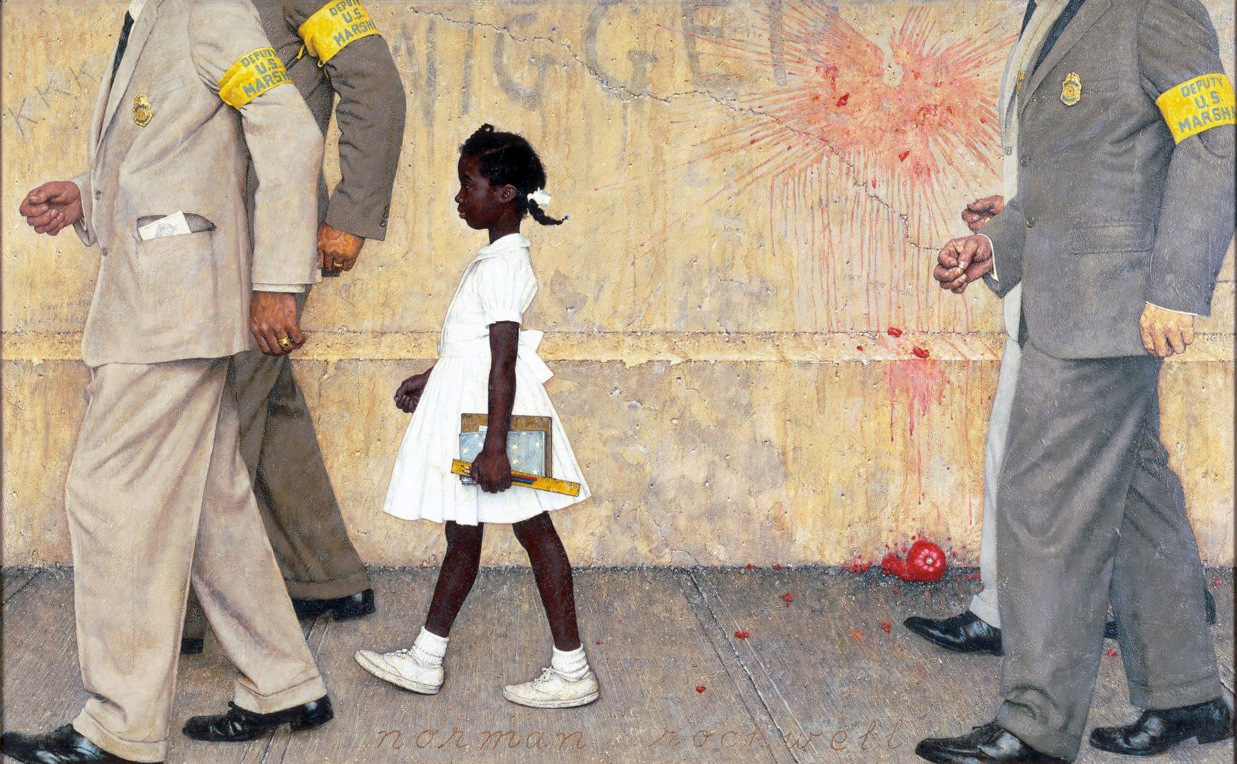 African American Education, Black Education, Brown v Board of Education, Segregation, Desegregation, KOLUMN Magazine, KOLUMN, Norman Rockwell
