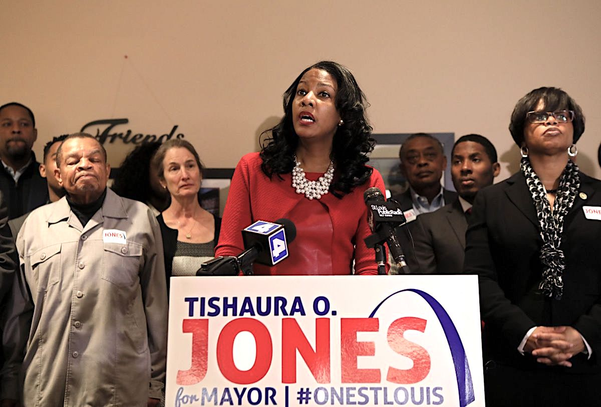 Tishaura Jones, Mayor Tishaura Jones, St Louis Politics, St Louis Mayor, African American Politics, KOLUMN Magazine, KOLUMN