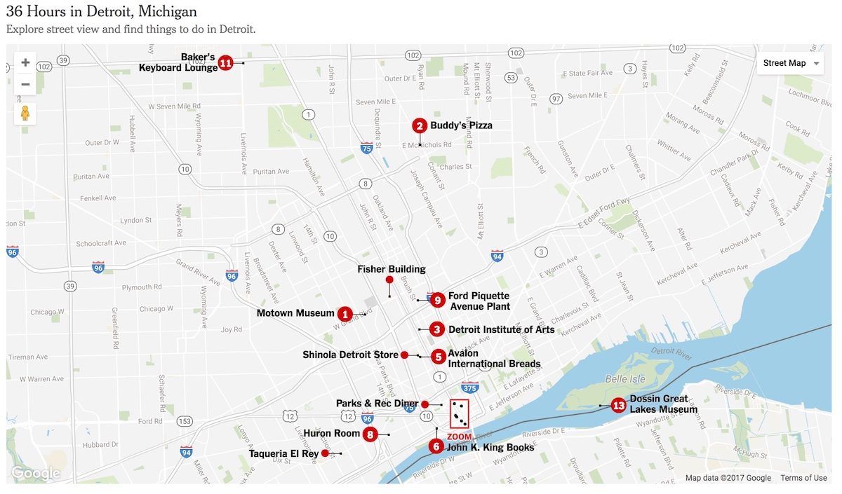 Detroit, Pure Detroit, Buddy's Pizza, Livernois Ave, Avenue of Fashion, Detroit Institute of Art, Wright Museum, KOLUMN Magazine, KOLUMN