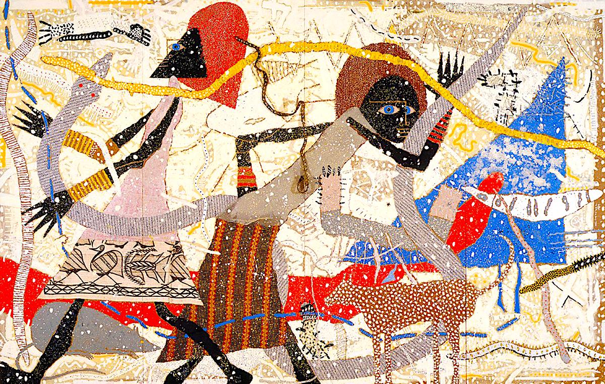 Charles McGee, African American Art, African American Artist, Black Art, Black Artist, African American News, KOLUMN Magazine, KOLUMN