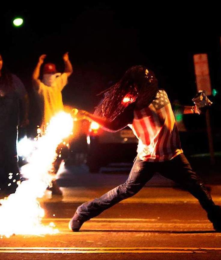 Edward Crawford, Ferguson Missouri, Michael Brown, Civil Unrest, Race Riots, Civil Protests, KOLUMN Magazine, KOLUMN