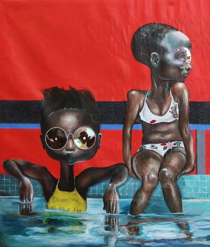 African Art, African Artists, Lina Iris Viktor, Laolu Senbanjo, Ndidi Emefiele, Neequaye Dreph Dsane, Ben Biayenda, KOLUMN Magazine, KOLUMN