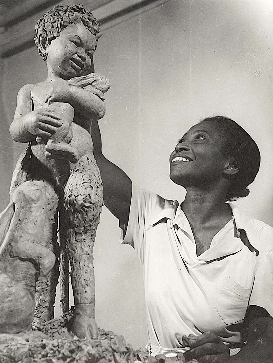 Augusta Savage, African American Art, Black Art, KOLUMN Magazine, KOLUMN