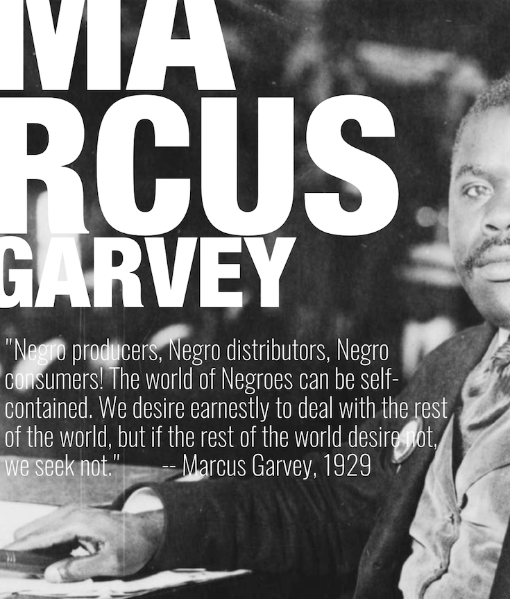Marcus Garvey, African American History, Black History, Back To Africa, Universal Negro Improvement Association, KOLUMN Magazine, KOLUMN