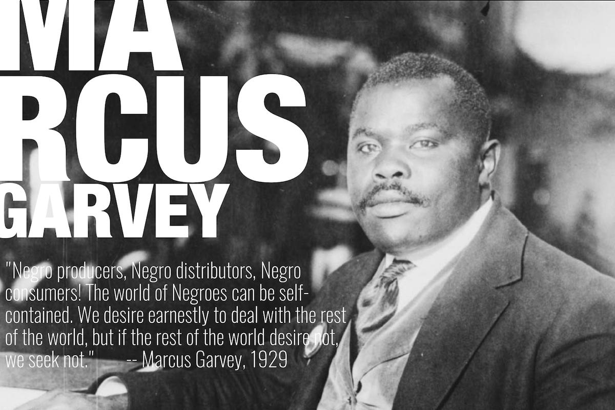 Marcus Garvey, African American History, Black History, Back To Africa, Universal Negro Improvement Association, KOLUMN Magazine, KOLUMN