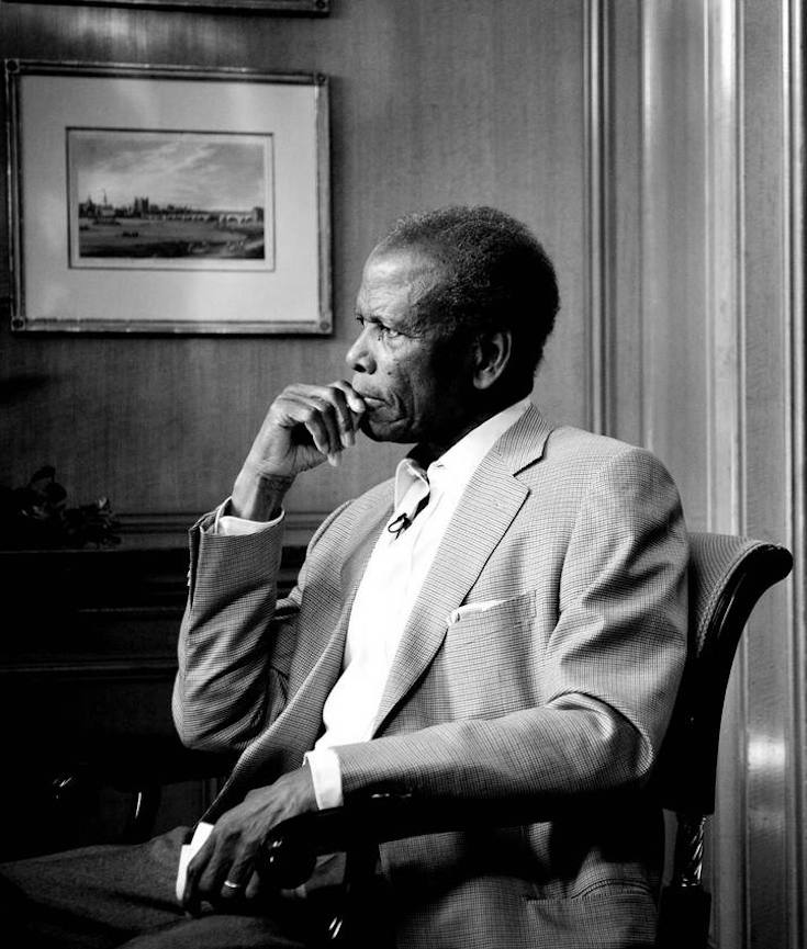 Sidney Poitier, African American Cinema, Black Cinema, Black Actors, KOLUMN Magazine, KOLUMN