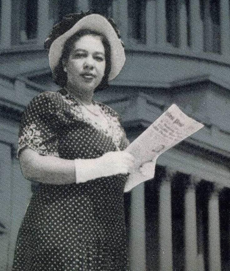 Alice Allison Dunnigan, Alice Dunnigan, African American Journalist, Black Journalist, African American History, Black History, African American News, KOLUMN Magazine, KOLUMN