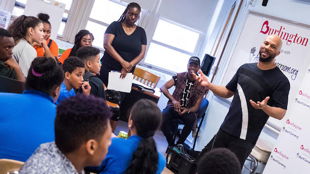 Renaissance School of the Arts, Common, African American Education, African American Families, Give Back, KOLUMN Magazine, KOLUMN, Common