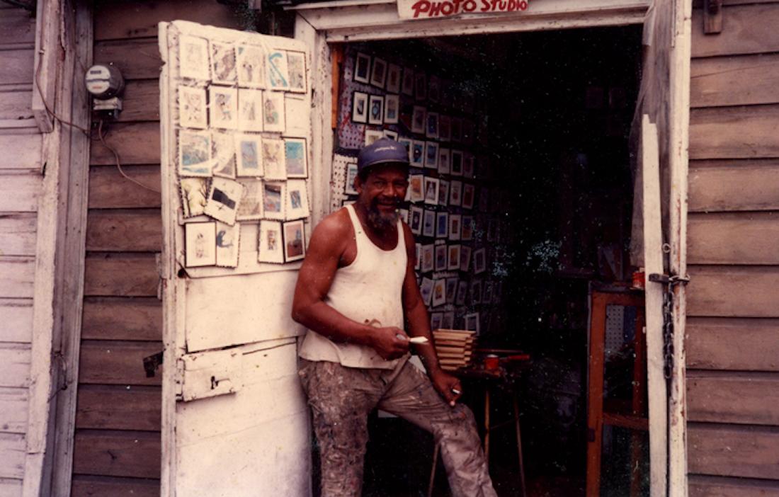 Frank Walter, Antiguan Artist, KOLUMN Magazine, KOLUMN