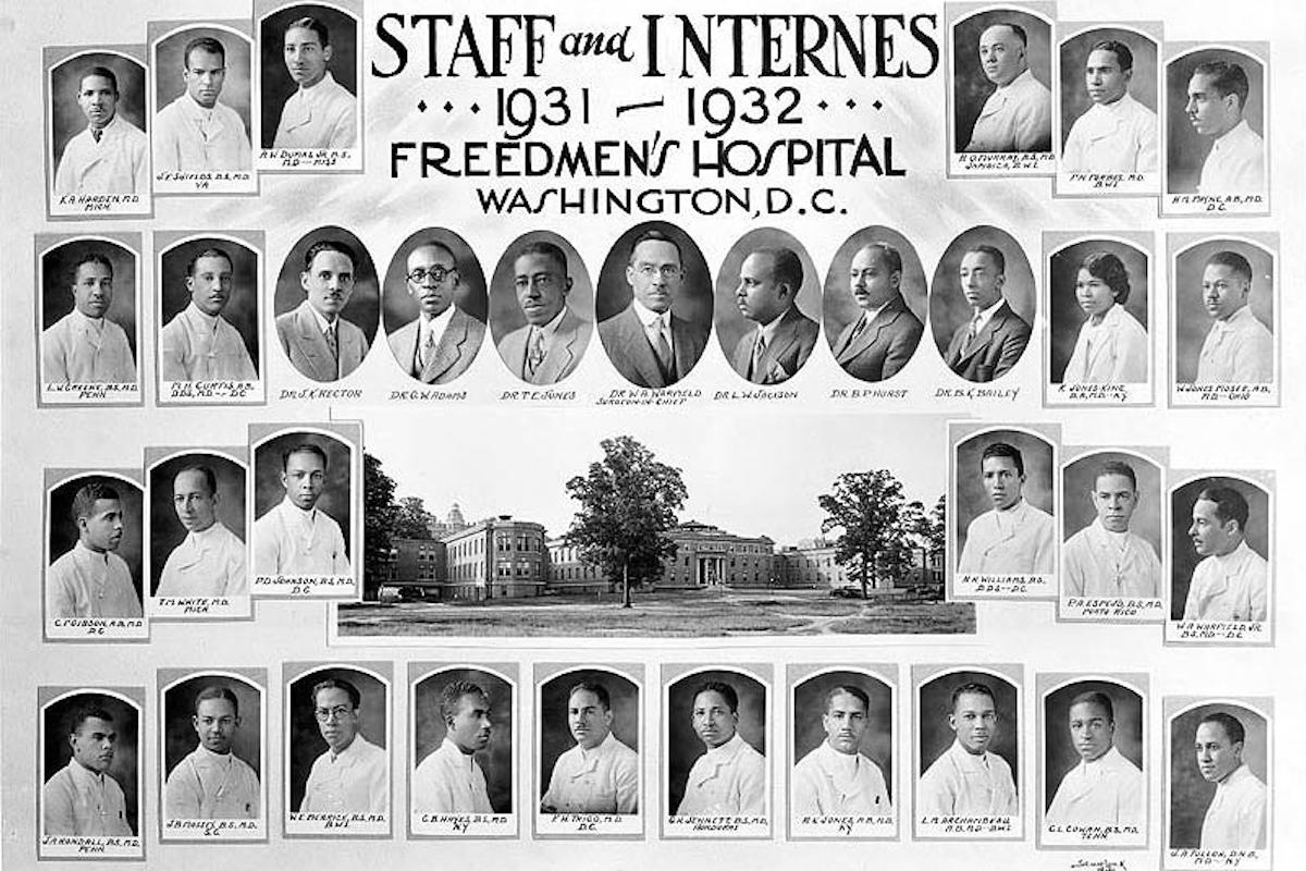 Freedmen's Hospital, African American History, Black History, Civil War, KOLUMN Magazine, KOLUMN