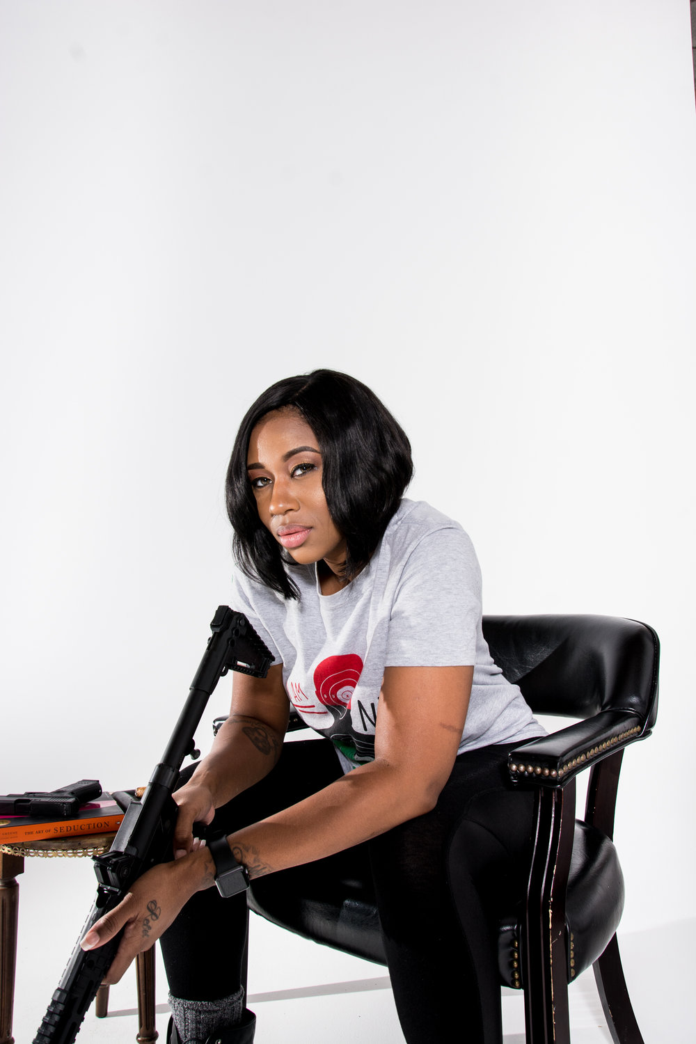 National African American Gun Association, Marchelle Tigner, 2nd Amendment Rights, Gun Rights, Gun Safety, KOLUMN Magazine, KOLUMN