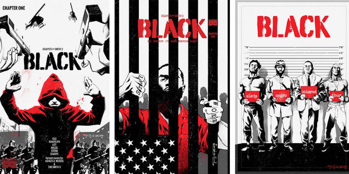 Kwanza Osajyefo, Tim Smith, Black, African American Comic, African American Literature, KOLUMN Magazine, KOLUMN