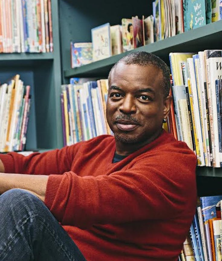 Levar Burton, Reading Rainbow, Childrens Literature, Childrens Entertainment, KOLUMN Magazine, KOLUMN
