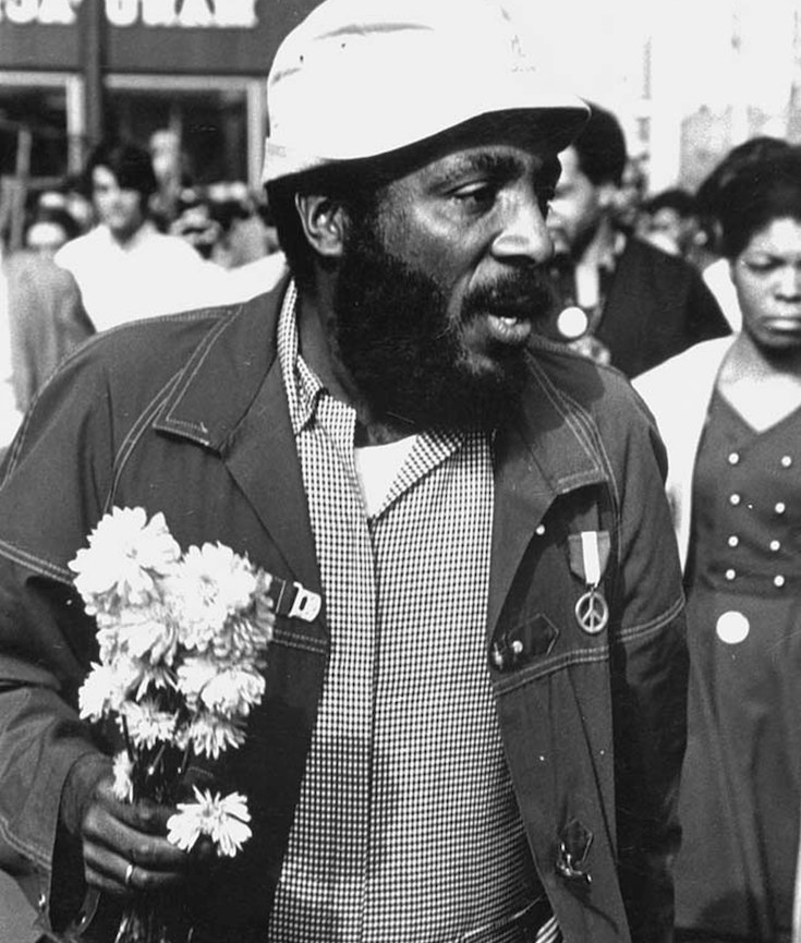 Dick Gregory, Civil Rights Activist, African American History, Black History, KOLUMN Magazine, KOLUMN