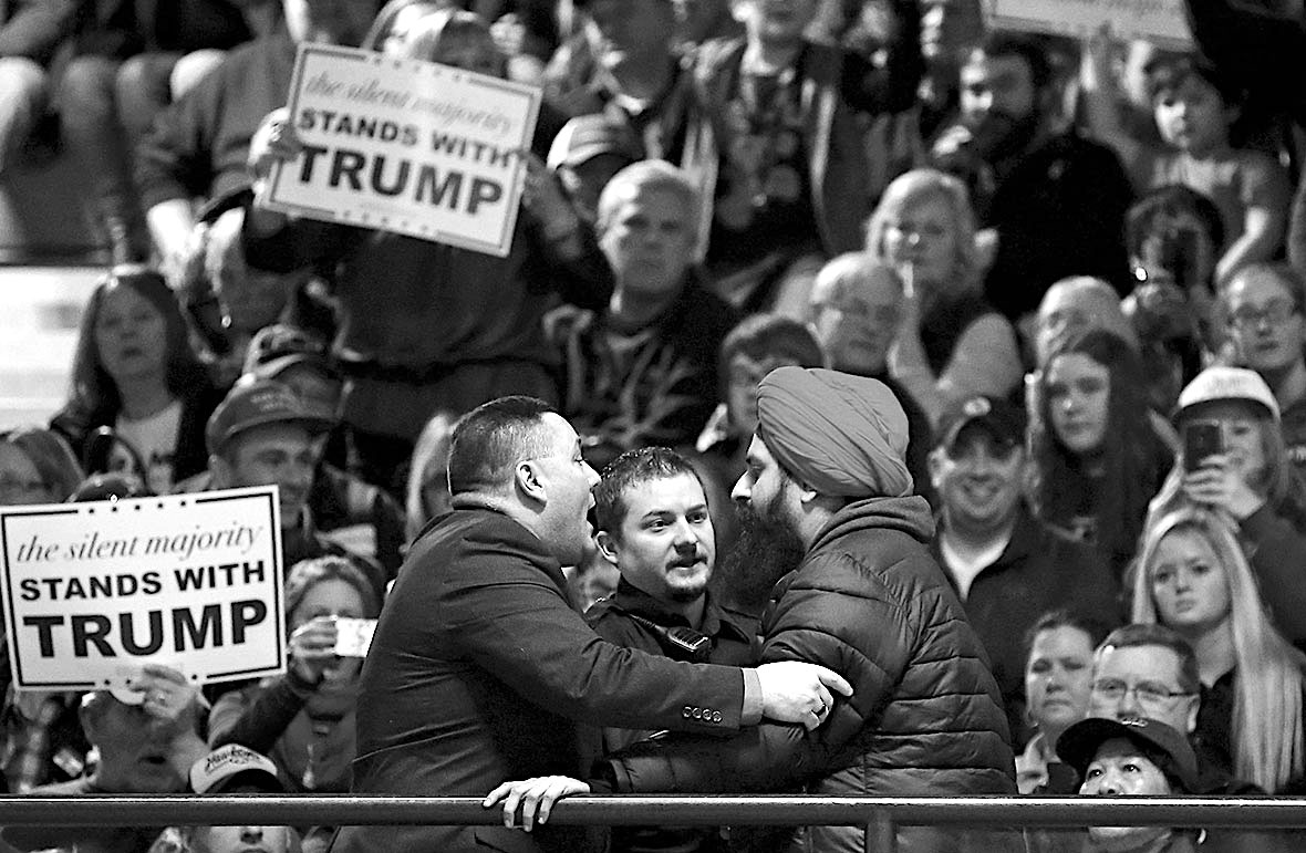 Donald Trump, American Racism, American Violence, Prejudice, KOLUMN Magazine, KOLUMN