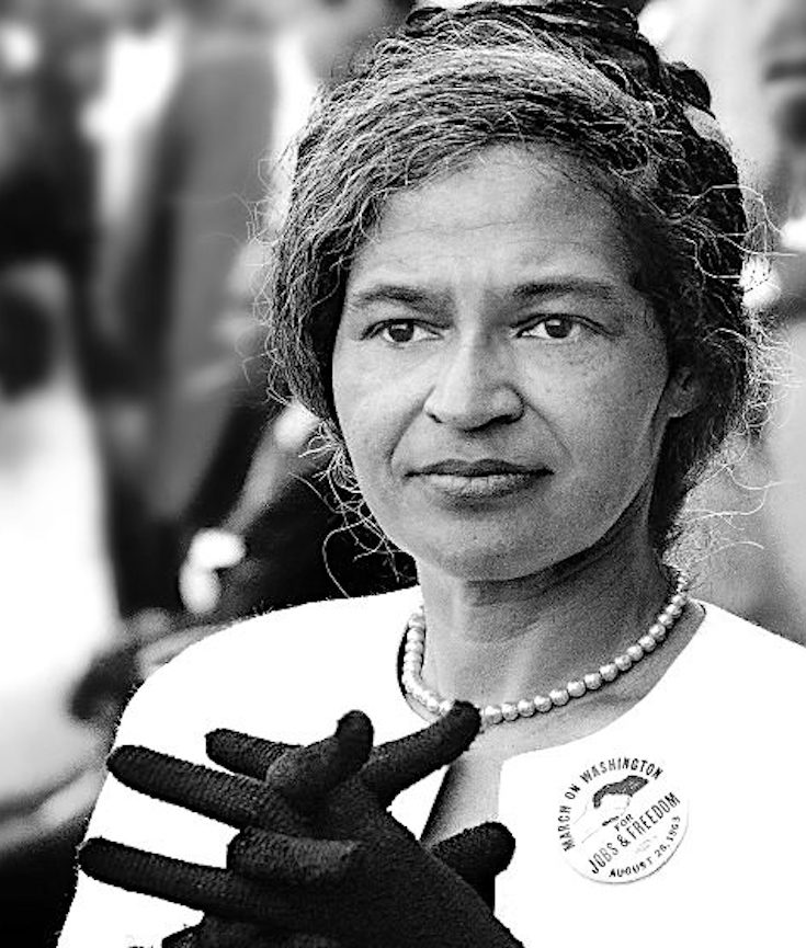Rosa Parks, Civil Rights Activist, African American History, Black History, KOLUMN Magazine, KOLUMN