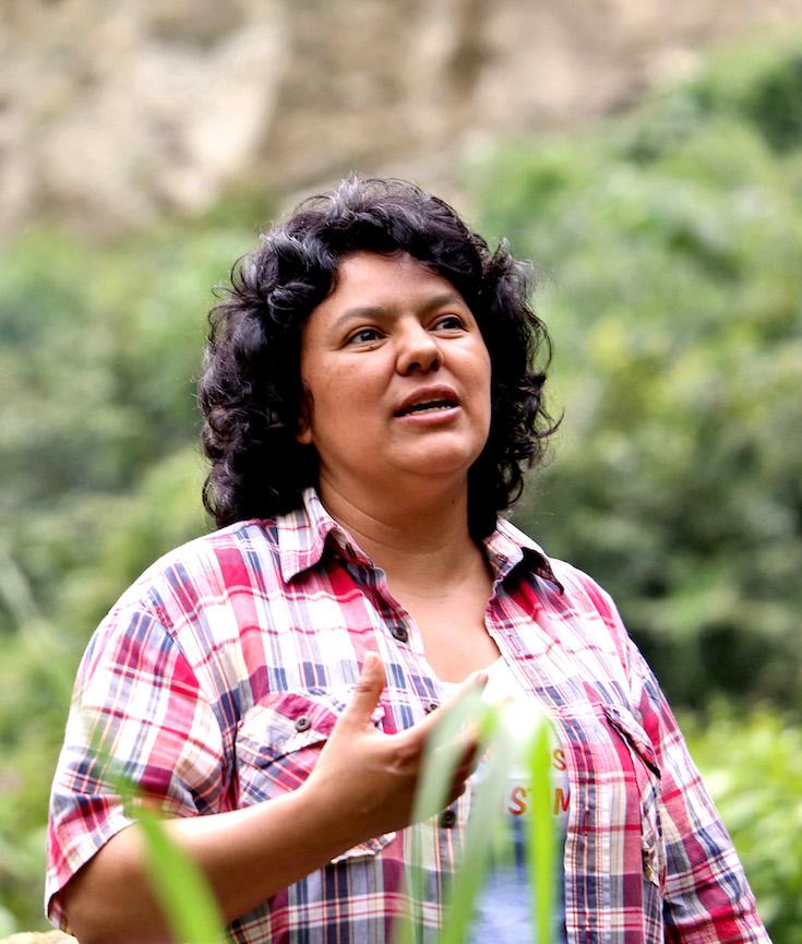 Berta Cáceres, Honduran Activist, Environmentalist, Environmentalism, KOLUMN Magazine, KOLUMN