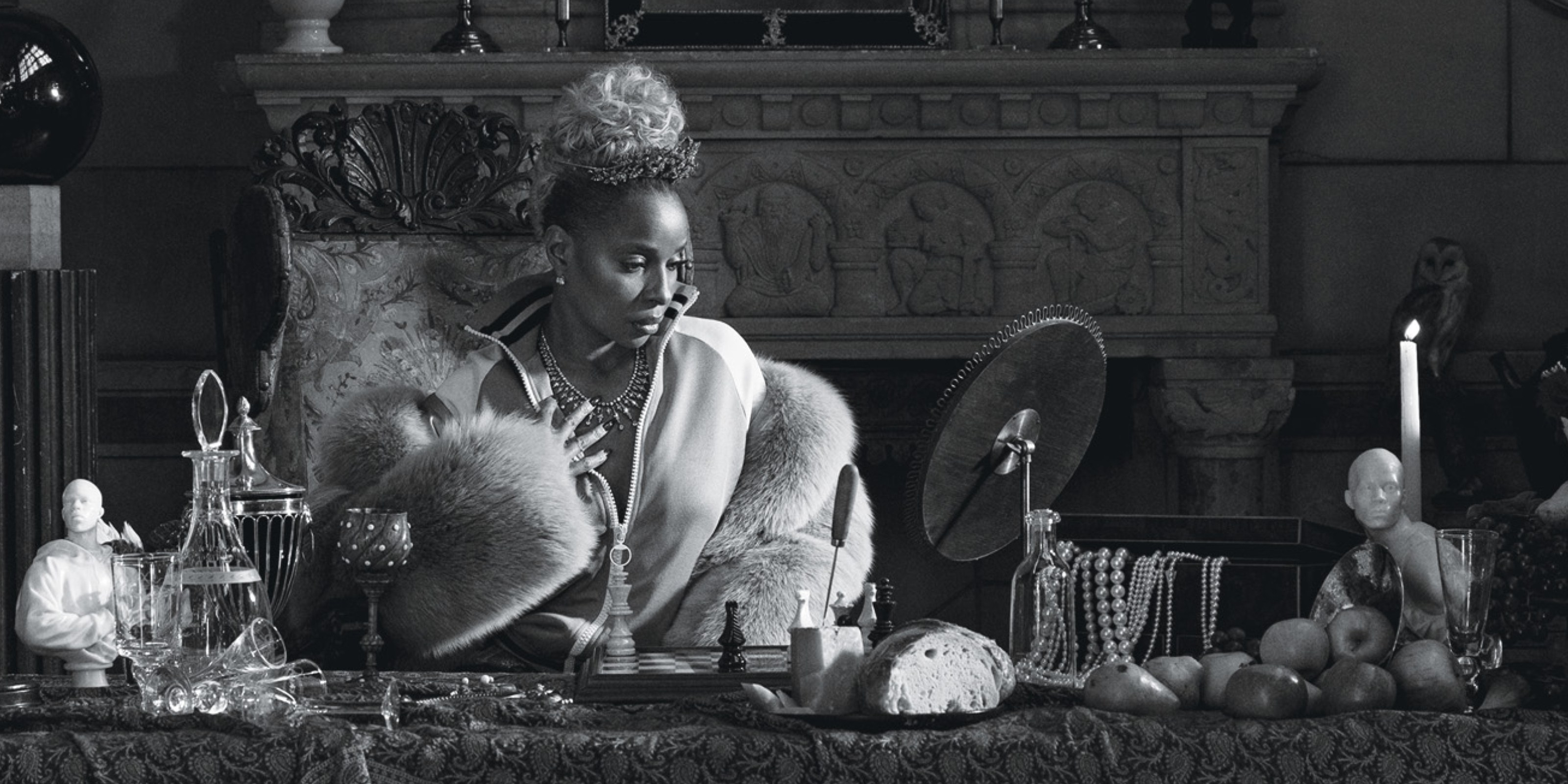 Mary J. Blige, Carrie Mae Weems, African American Art, Black Art, African American Artist, Black Artist, R&B Music, Queen of R&B, KOLUMN Magazine, KOLUMN