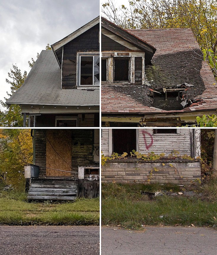 Detroit, Housing Blight, Urban Blight, Brown Fields, Detroit Housing, African American Lives, KOLUMN Magazine, KOLUMN