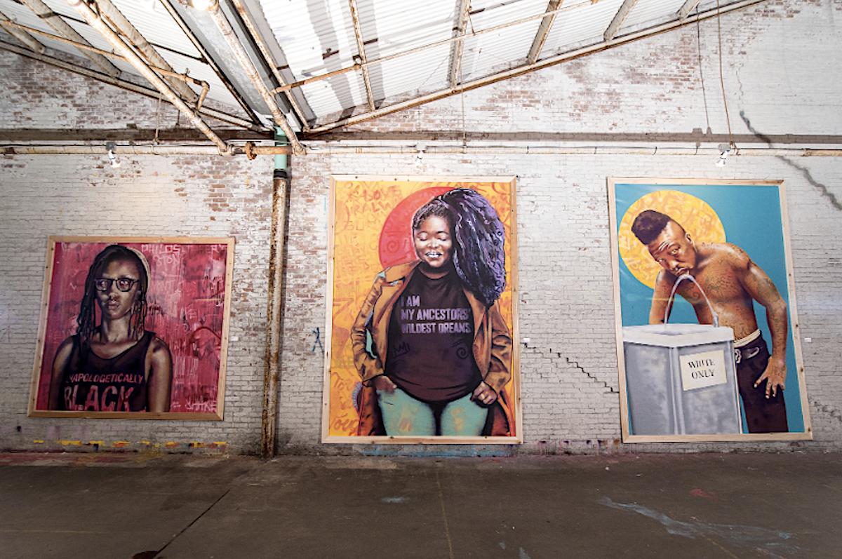 Brandan Odums, African American Art, Black Art, New Orleans, Hurricane Katrina, KOLUMN Magazine, KOLUMN
