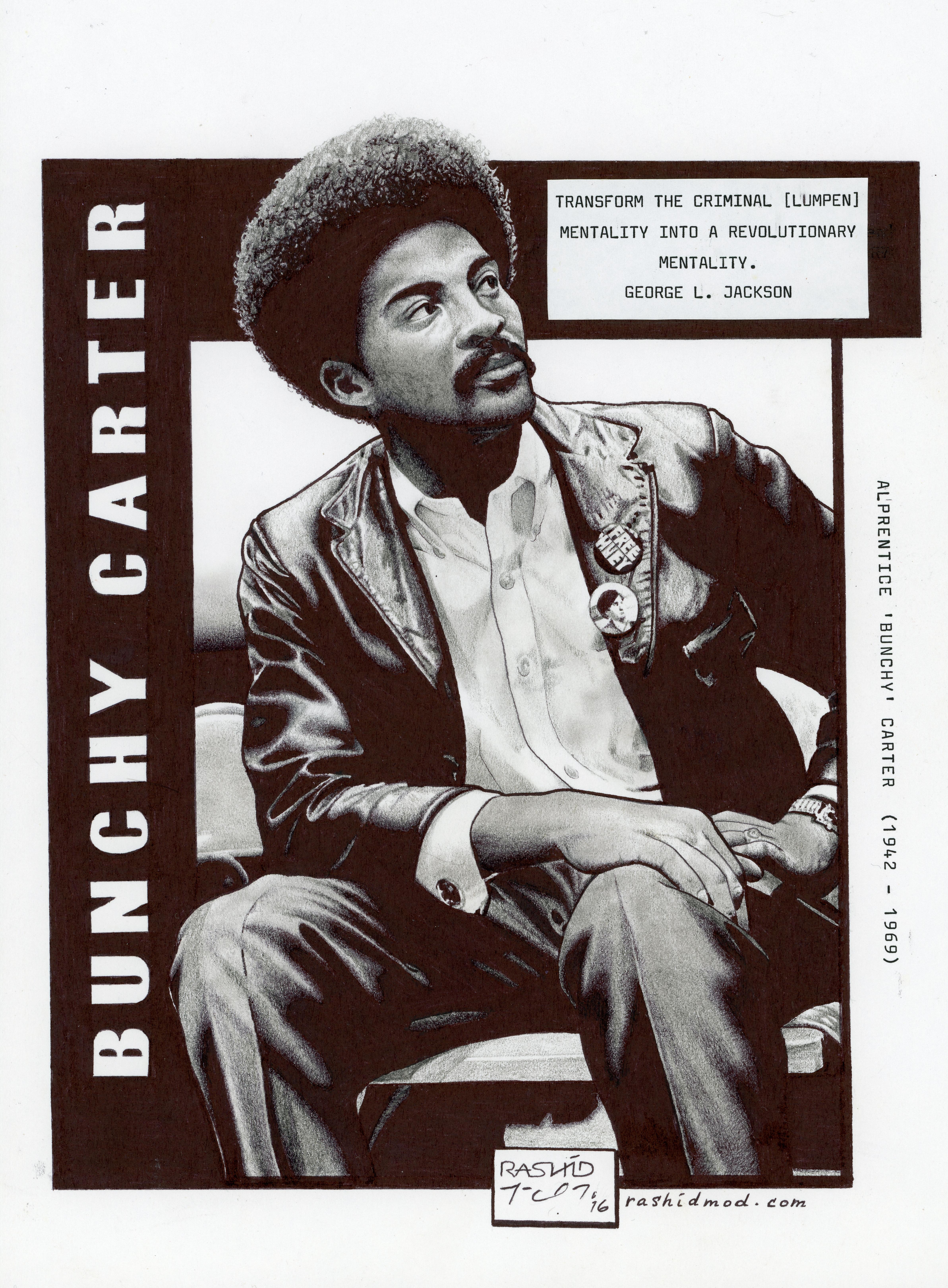 "Alprentice ""Bunchy"" Carter, Bunchy Carter, Black Panthers, SoCal BPP, BPP, African American History, Black History, KOLUMN Magazine, KOLUMN"