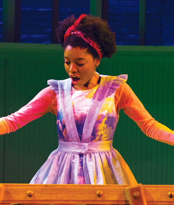 Lookingglass Alice, Alice In Wonderland, Markita Prescott, African American Theater, KOLUMN Magazine, KOLUMN