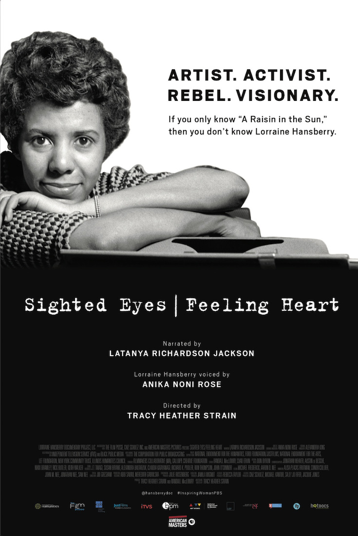 Tracy Heather Strain, African American History, African American Literature, African American Activist, Lorraine Hansberry, Sighted Eyes/Feeling Heart, Tracy Heather Strain, KOLUMN Magazine, KOLUMN