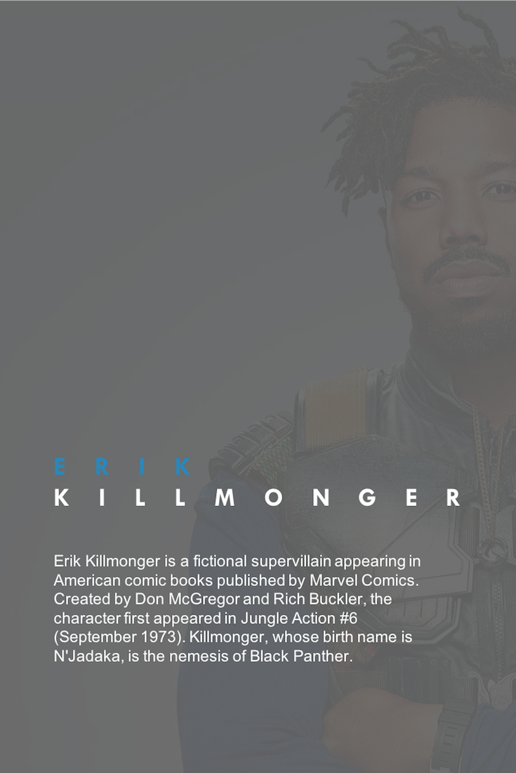 Black Panther, Black Panther Movie, Erik Killmonger, N'Jadaka, African American Film, Black Film, Black Movie, KOLUMN Magazine, KOLUMN