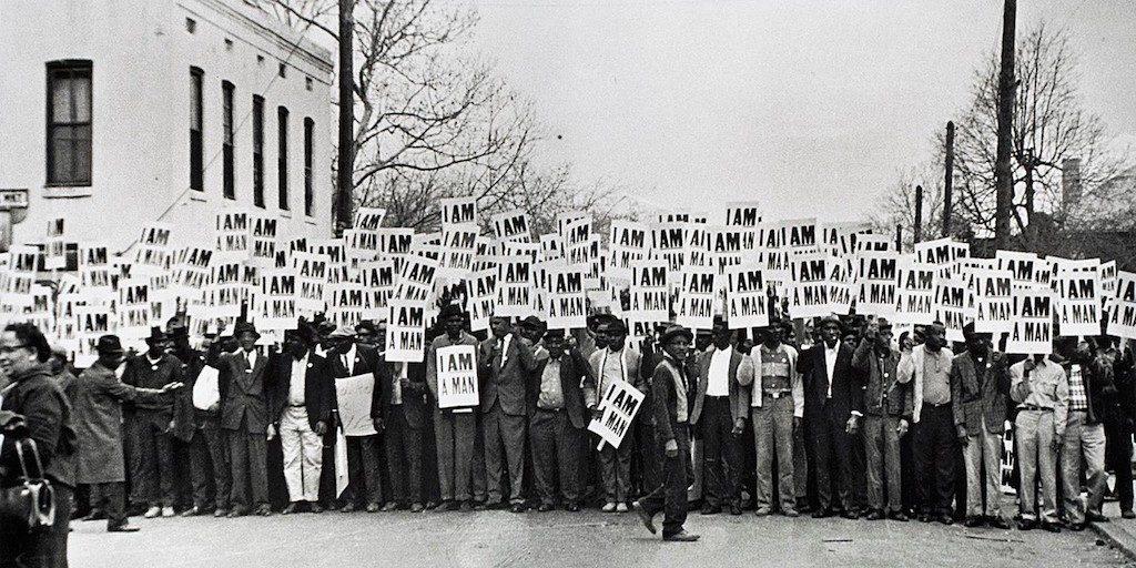 Memphis Sanitation Strike, Memphis Strike, Civil Rights, US Civil Rights, African American Civil Rights, African American History, Black History, Martin Luther King, MLK, Black History Month, KOLUMN Magazine, KOLUMN