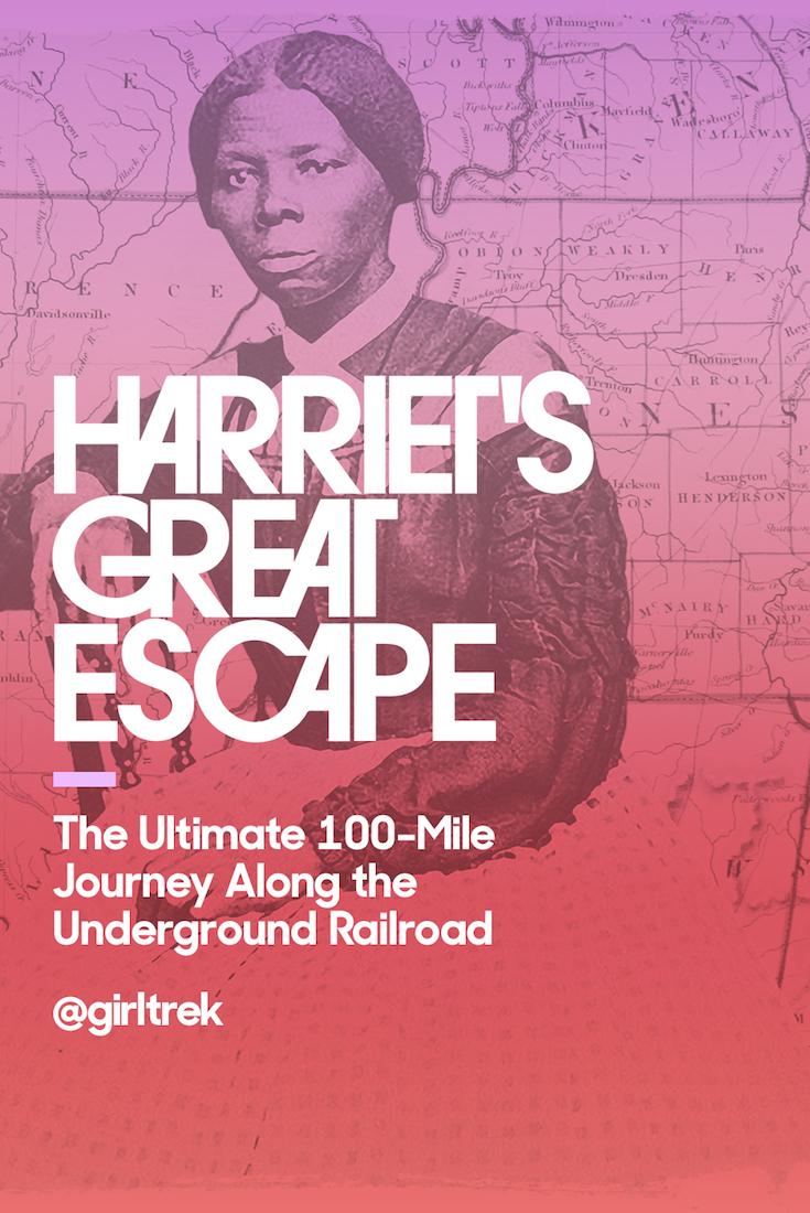 Harriet's Great Escape, African American Women, African American Activist, Harriet Tubman, African American History, Black History, KOLUMN Magazine, KOLUMN, KINDR'D Magazine, KINDR'D