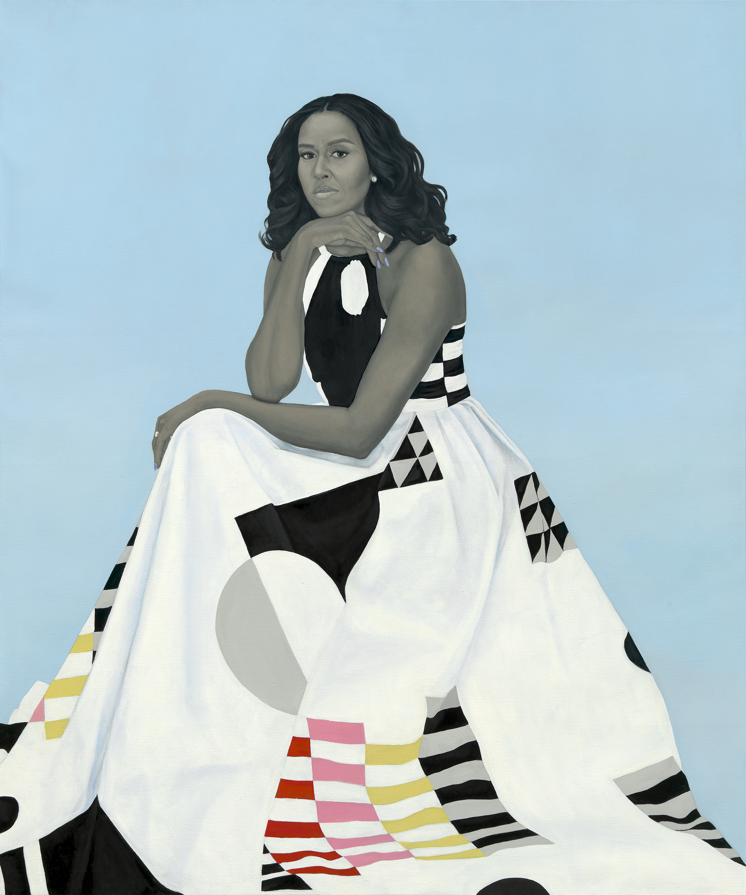 African American Art, Michelle Obama, Black Art, Presidential Portrait, KOLUMN Magazine, KOLUMN, KINDR'D Magazine, KINDR'D