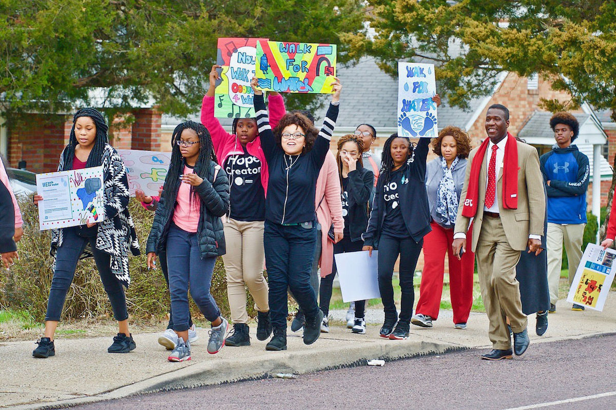 Jennings Junior High School, Walk for Water, Kenya, African American Activism, African American Activist, KOLUMN Magazine, KOLUMN