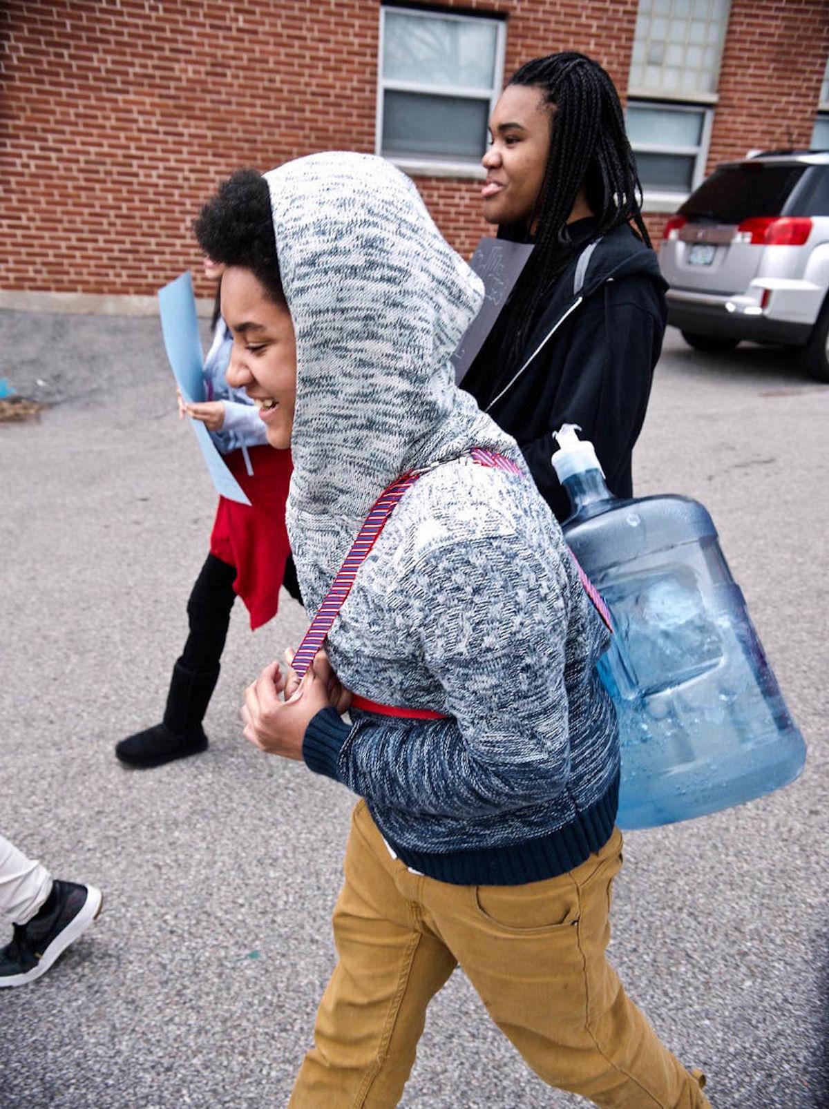 Jennings Junior High School, Walk for Water, Kenya, African American Activism, African American Activist, KOLUMN Magazine, KOLUMN